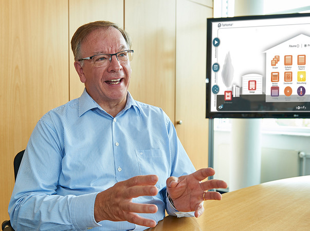 Jean-Luc Sarter: Wir geben unseren Fachhändlern die Möglichkeit, gezielt Umsatz in einem weiteren Vertriebskanal zu generieren, das eigene Markenimage zu stärken und eine professionelle Kundenansprache zu ermöglichen. Foto: © Somfy