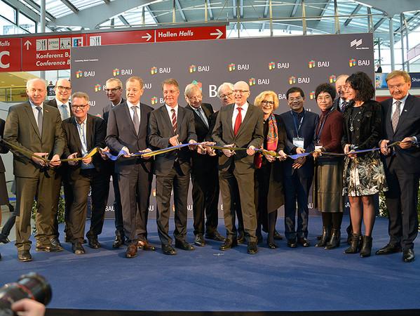 Die Eröffnung der BAU 2019. Foto: © Messe München GmbH