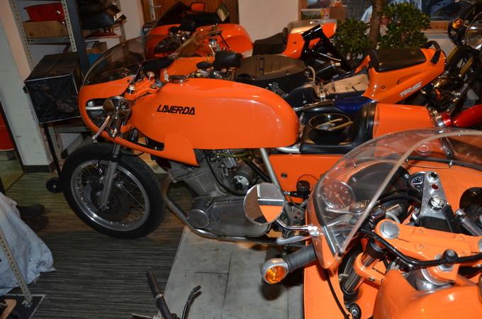 Laverda erlangte mit den orangefarbenen 750 SF und SFC Weltruhm. Foto: © Jürgen Ulbrich
