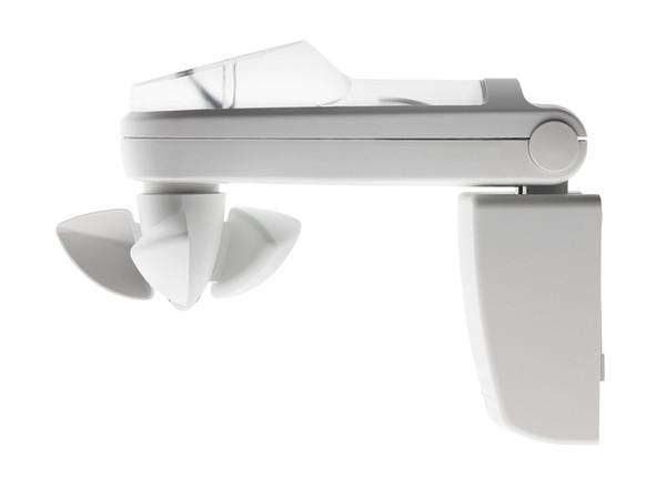 Der intelligente Sonnen-Wind-Regen Sensor mit integriertem Funkempfänger schützt sicher bei jedem Wetter. Foto: © Becker-Antriebe