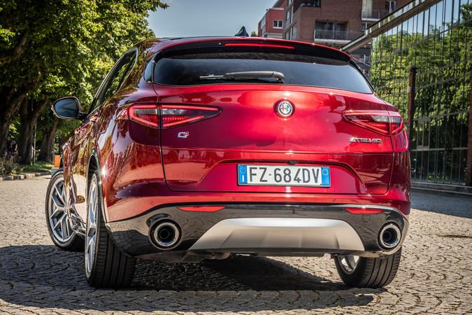 Der Alfa Romeo Stelvio für das Modelljahr 2020 Foto: © Alfa Romeo