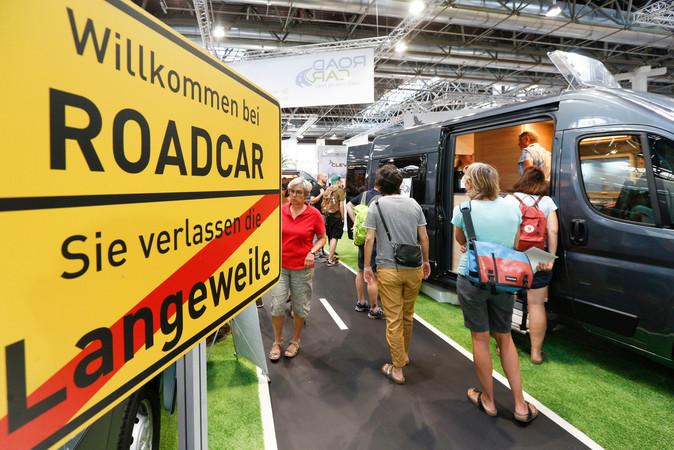 Der CARAVAN SALON 2020 findet vom 4. - 13. September unter strengsten Hygienevorgaben in Düsseldorf statt. Foto: © Messe Düsseldorf/ctillmann