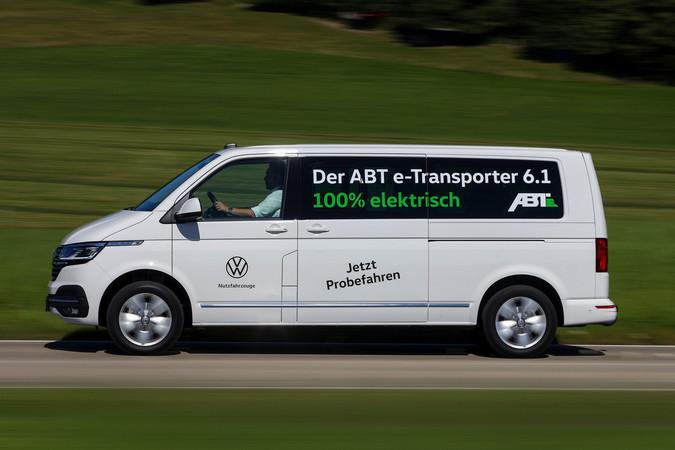 Der neue ABT e-Transporter 6.1 schafft eine Tonne Nutzlast Foto: © ABT e-Line/Stephan Lindhoff