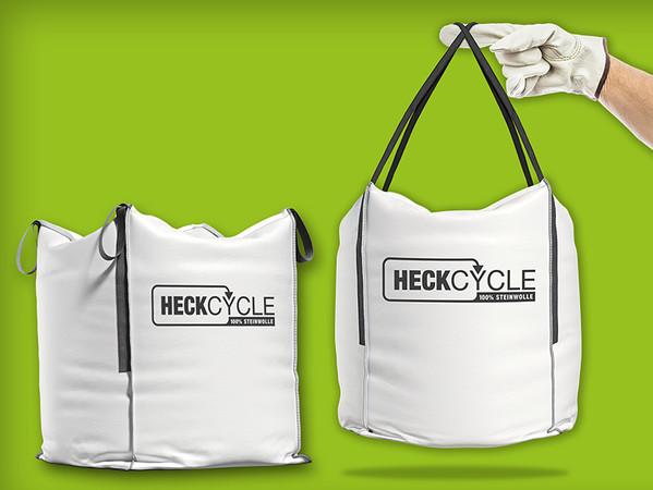 Heck Wall Systems bringt mit Heckcycle ein bundesweites Rücknahme-System für das Recycling von Steinwolle-Verschnitt auf den Weg. Foto: © Heck Wall Systems GmbH