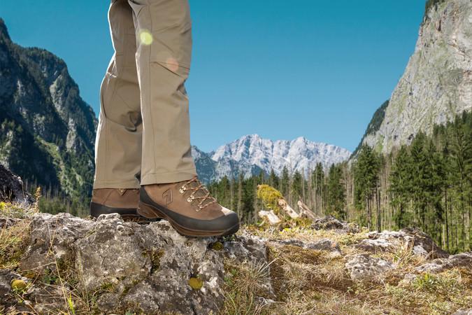 Der Nature One von Haix für anspruchsvolle Wanderer. Foto: © Haix