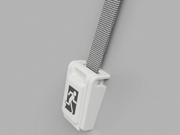 Die Bedienung dieses Sicherheitsgurtes so intuitiv, dass eine falsche Nutzung ausgeschlossen ist. Foto: © Piening