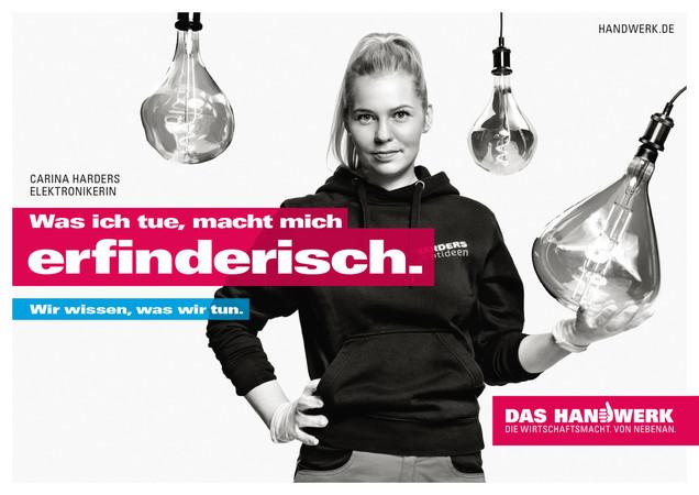 Carina Harders Foto: © DHKT / handwerk.de