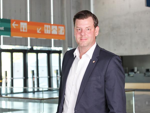 Sebastian Schmid: Wir möchten unseren Ausstellern und Partnern mit der R+T digital den Zugriff auf unser weltweites Besuchernetzwerk ermöglichen, so dass in diesem Rahmen die für 2021 entwickelten Produktneuheiten ausführlich vorgestellt werden können. Foto: © Messe Stuttgart