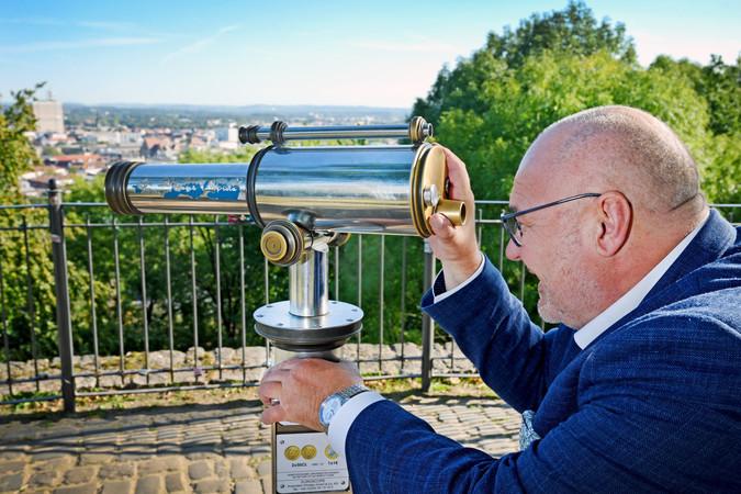 Blick nach vorn: Peter Eul, Präsident der Handwerkskammer Ostwestfalen-Lippe. Foto: © Thomas F. Starke
