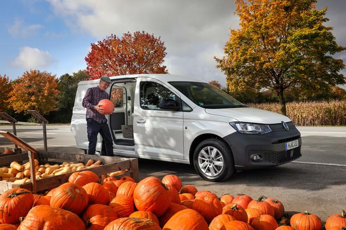 Der neue VW Caddy kommt in fünfter Generation Foto: © VW Nfz