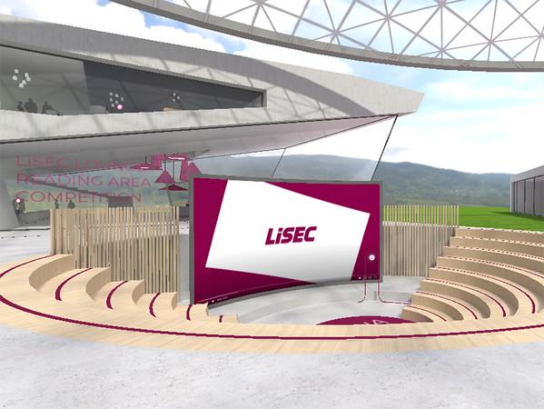 In der virtuellen Lisec-Arena konnten sich die Besucher Videos aus Produktionsstätten ansehen oder Experten-Gespäche abrufen. Foto: © Lisec