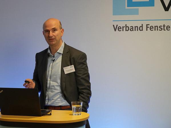 Prof. Lucio Blandini von der Werner Sobek AG in Stuttgart. Foto: © VFF