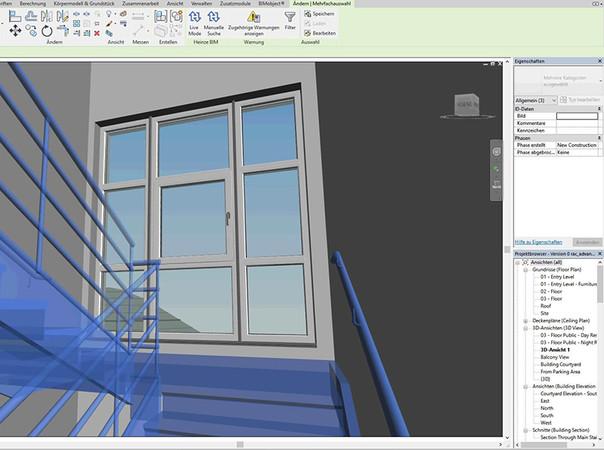 Architekten können mit der Gealan-Lösung Fenster jeglicher Form und Art in die geplanten Gebäude einsetzen. Foto: © Gealan