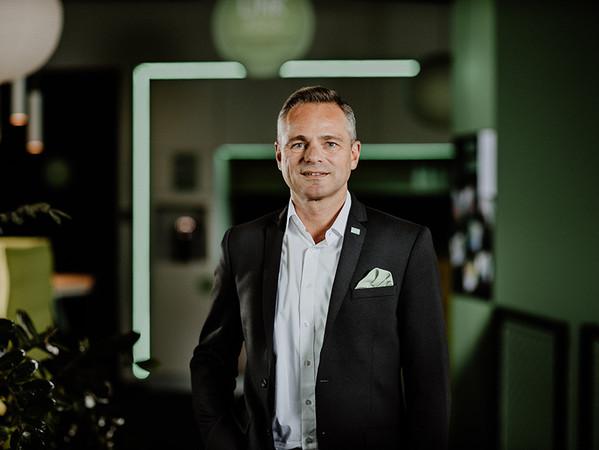 Rüdiger Keinberger, Vorsitzender der Geschäftsführung von Loxone. Foto: © Loxone