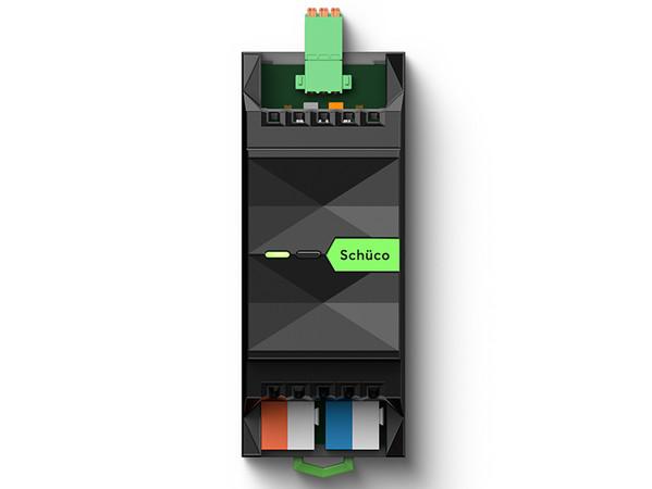 Die Schüco Extension von Loxone ermöglicht das Einbinden von bis zu 30 Schüco Elementen. Foto: © Loxone