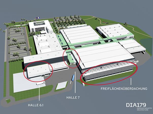 In Melle entstehen auf 2850 Quadratmetern neue Kapazitäten. Foto: © DIA179