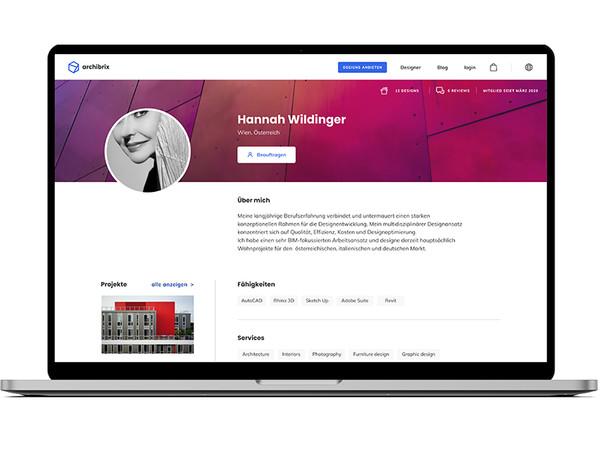 Mit dem auf www.archibrix.com implementierten Architekten-Profil erhalten Designer die Möglichkeit, sich, ihre Projekte und ihre Dienstleistungen einem globalen Publikum zu präsentieren. Foto: © Archibrix