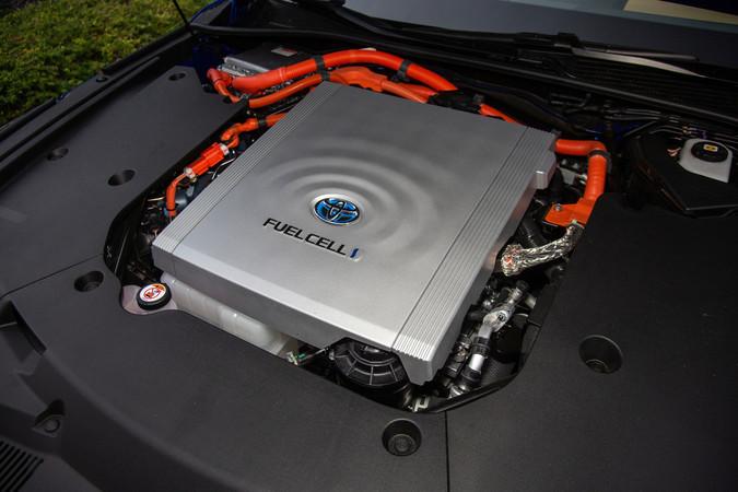 Mittlerweile befindet sich die Brennstoffzelle bei Toyota in der zweiten Generation. Foto: © Toyota