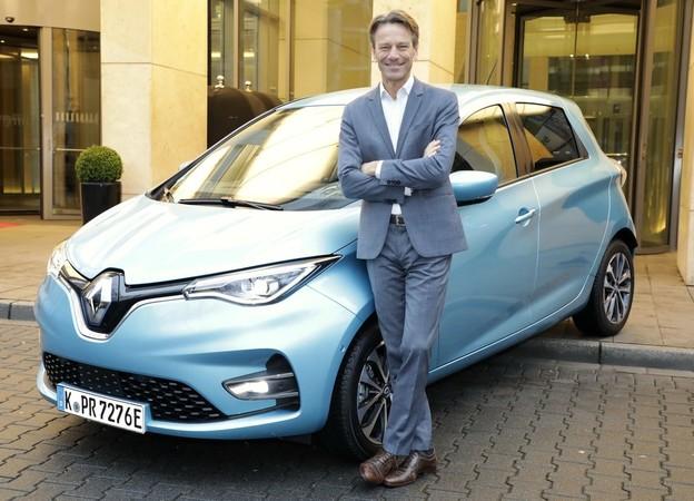 Uwe Hochgeschurtz, Vorstandsvorsitzender der Renault Deutschland AG Foto: © Renault