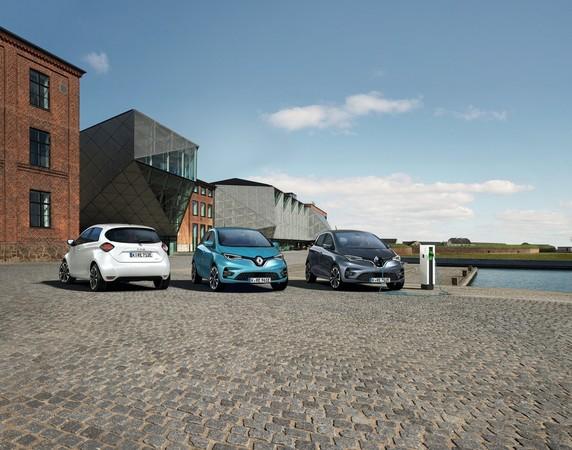 Efolgsfaktor Nummer 1 für Renault: das E-Auto Zoe Foto: © Renault