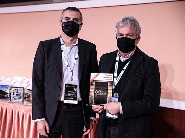 Michele Suria, CEO der IGV Group (links) und Architekt Marco Piva, Studio Marco Piva. Foto: © IGV Group