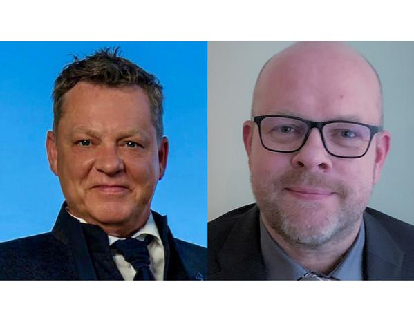 Detlef Zülow (links) verstärkt ab dem 1. Februar die Geschäftsführung von Glas Wulfmeier. Geschäftsführer Frank Wulfmeier (rechts). Foto: © Glas Wulfmeier