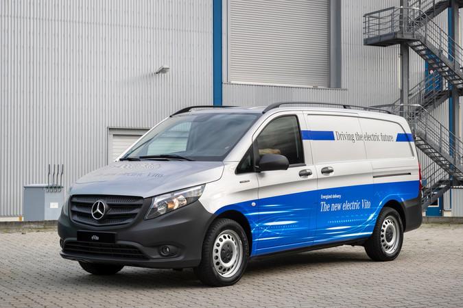Ab sofort per Abonnement fahrbar: die eTransporter von Mercedes-Benz. Foto: © Mercedes-Benz