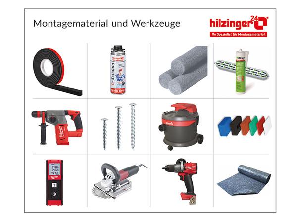 Auszüge aus dem Produktprogramm von hilzinger24. Foto: © hilzinger