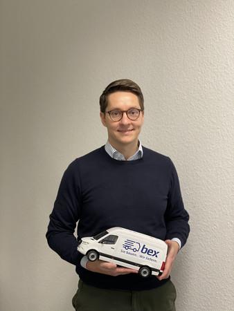 Lennart A. Paul, Gründer und Geschäftsführer von bex Foto: © bex technologies
