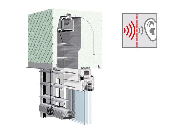 Ebenfalls Gold erhielt Warema für das Produkt Schalloptimierter Neubau-Aufsetz-Kasten in Modulbauweise. Foto: © Messe Stuttgart