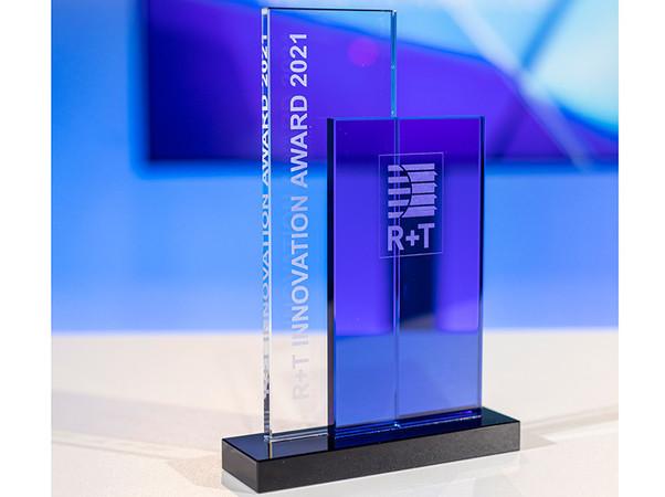 Die Verleihung des R+T Innovationspreises stand im Mittelpunkt des digitalen Branchenevents. Foto: © Messe Stuttgart