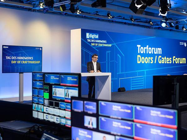 An den vier Live-Tagen wurde den Fachbesuchern ein umfangreiches Rahmenprogramm mit den Trendthemen der Branche geboten. Foto: © Messe Stuttgart