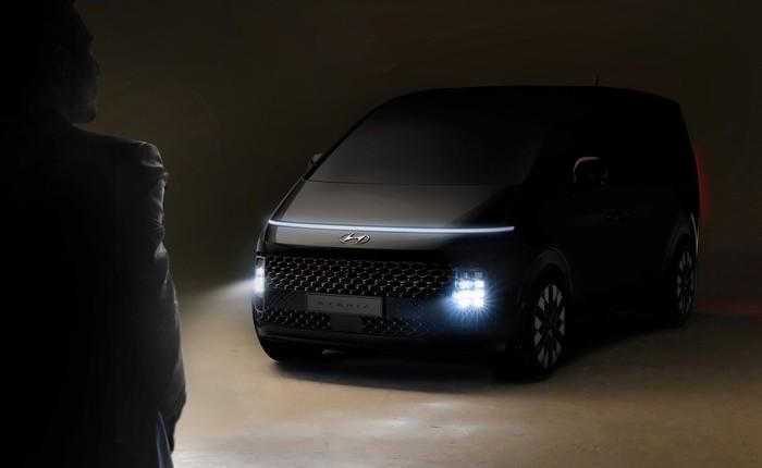 Erste Impressionen vom neuen Hyundai-Transporter Staria. Foto: © Hyundai