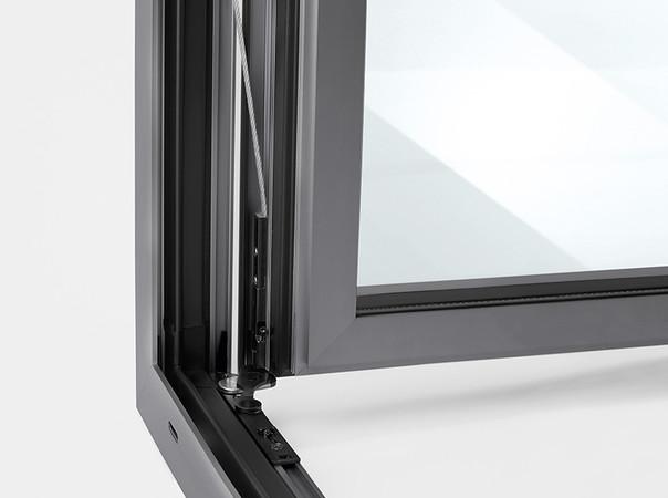 Winkhaus aluPilot rationalisiert die Fertigung von Aluminiumfenstern und ermöglicht eine Zeitersparnis von bis zu 50 Prozent. Foto: © Winkhaus