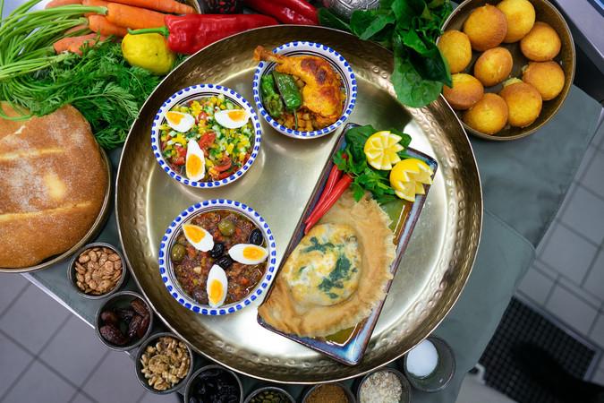 Das tunesische Menü. Foto: © Marvin Evkuran