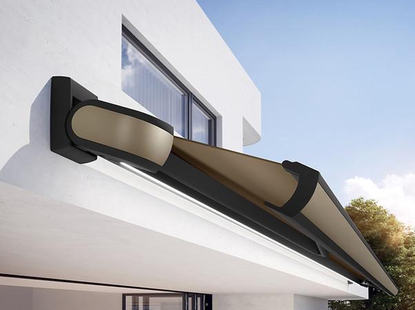 Die zeitlosen Farboptionen passen zu jedem Architekturstil. Foto: © Markilux