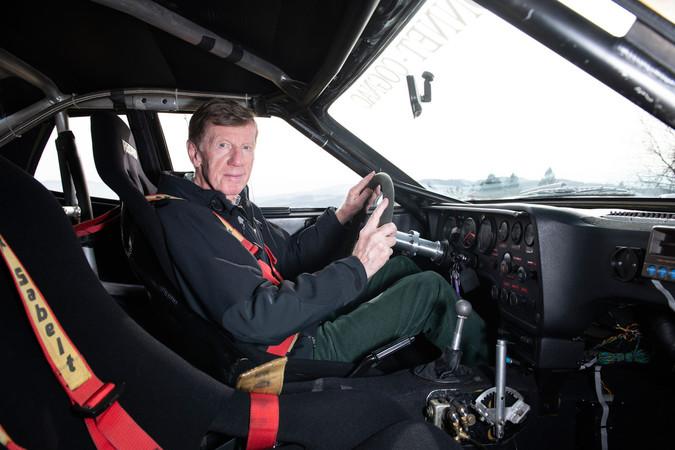 Mit dabei im Porsche-Museum: Rallye-Legende Walter Röhrl. Foto: © Deniz Calagan/Porsche