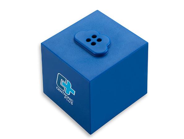 Mit dem CentronicPlus Cube lässt sich das Funksystem ganz einfach in ein Homee-System integrieren. Foto: © Becker-Antriebe