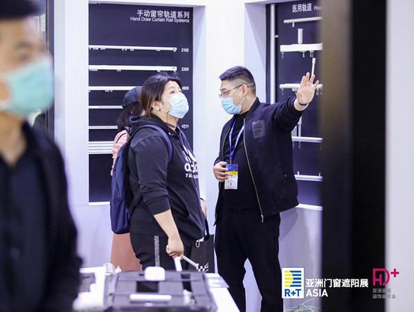Mit ihrer ersten physischen Ausgabe nach der Pandemie zeigte die R+T Asia einen eindrucksvollen Messeneustart für die Sonnenschutz- und Tür-/Torindustrie in Asien. Foto: © Messe Stuttgart