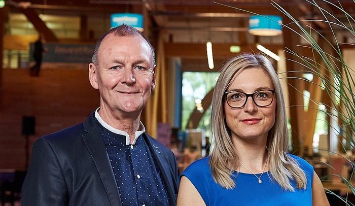 Mapstrom-Gründer Andreas Reuß und Susanne Reuß Foto: © Univations