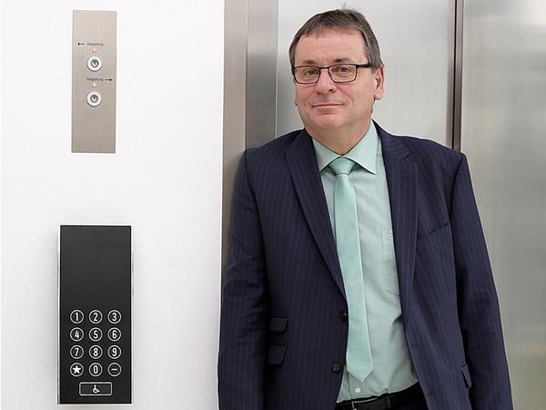 Thomas Maldet, Geschäftsfeldleiter für Infrastruktur und Transport beim TÜV Austria. Foto: © TÜV Austria / Andreas Amsüss