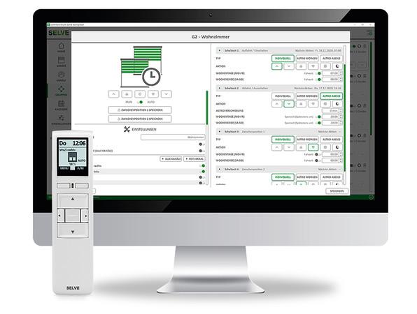 Mit der neusten Version des KonfigTool lässt sich das Upgrade vornehmen – und noch zusätzliche Kanäle sowie Gruppen einrichten. Foto: © Selve