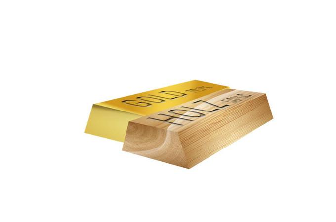 Holz: Heute so selten wie Gold. Foto: © Pro Holzbau GmbH