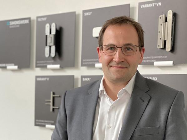 David Bannas kommt von der Thyssen'schen Handelsgesellschaft mbH, der Mehrheitsgesellschafterin von Simonswerk. Foto: © Simonswerk