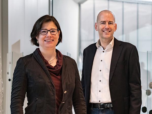 Priska und Christoph Jansen sind Mitglieder der Jansen Geschäftsleitung. Mit dem Digitalevent am 20. Mai rücken Sie das Thema Sicherheit in den Fokus. Foto: © Jansen AG