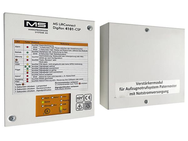 Installiert wurde das eigene mobilfunkbasierte und digitale Aufzugnotrufsystem MS Digifon. Foto: © Manfred Spiller/MS-AG