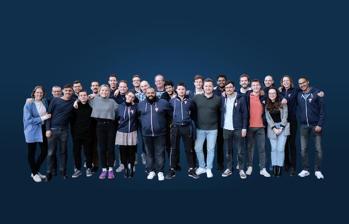Da waren es noch knapp 30. Zurzeit arbeiten knapp 60 Leute für ToolTime. Bis Ende 2022 sollen es mehr als 100 sein. Foto: © ToolTime GmbH