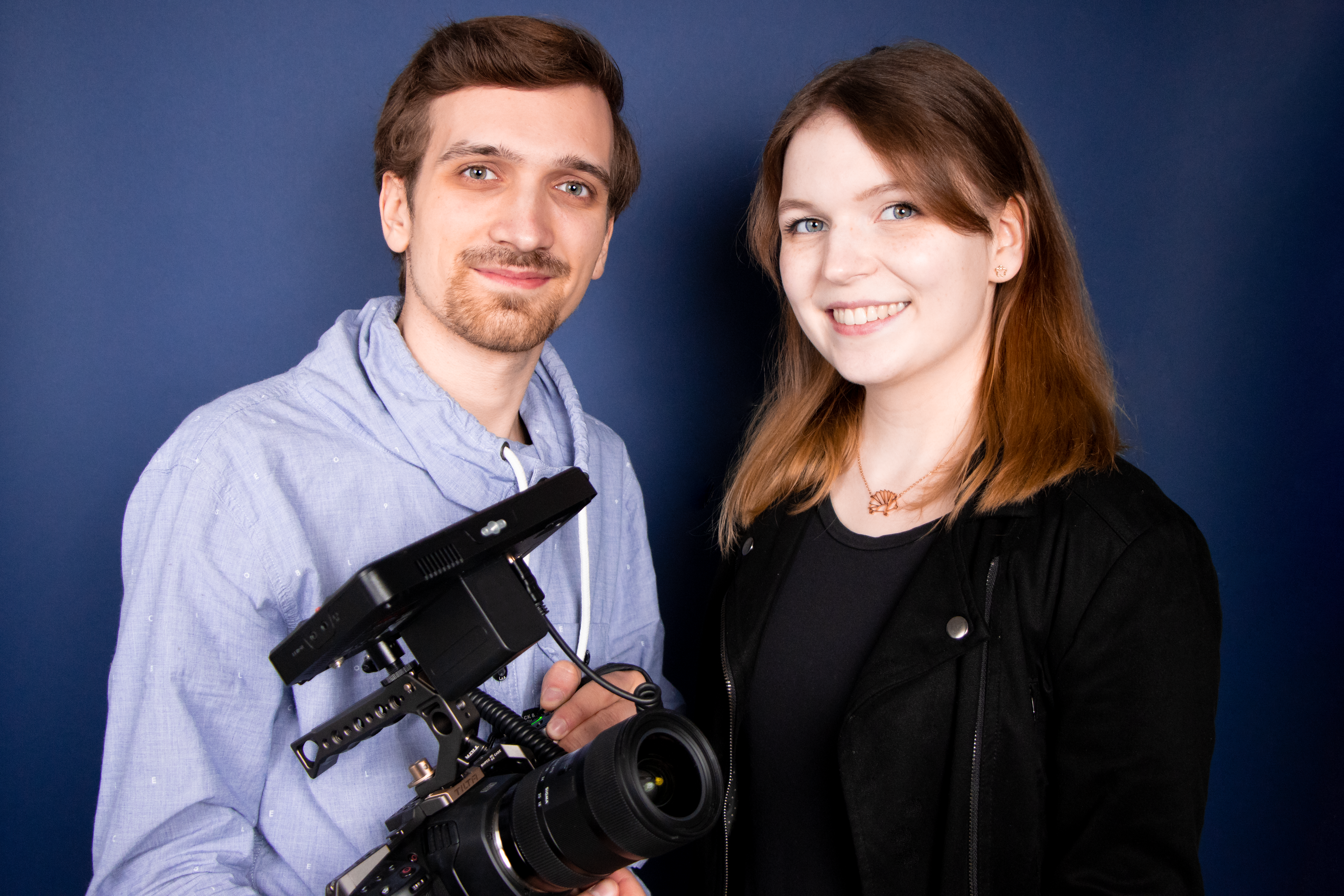 Jungunternehmer Sarah Wieck und Niklas Michalik Foto: © FilmOrbit