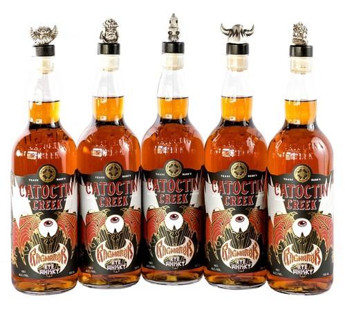 Ein weiteres Produkt aus Viriginia: der Ragnarök Rye Whisky der Catoctin Creek Destillerie. Foto: © Catoctin Creek Distillery
