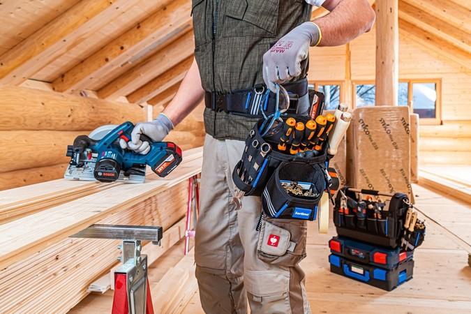 ProClick Werkzeugtaschen bieten eine perfekte Übersicht über die Werkzeuge. Foto: © Sortimo